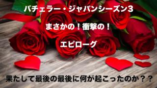 バチェラージャパン3エピローグ